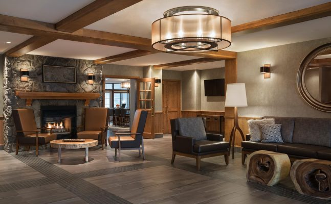 Residence Inn By Marriott Mont Tremblant Lobby