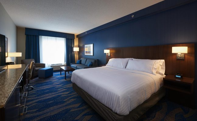Holiday Inn Express Suites St Johns Newfoundland King Suite