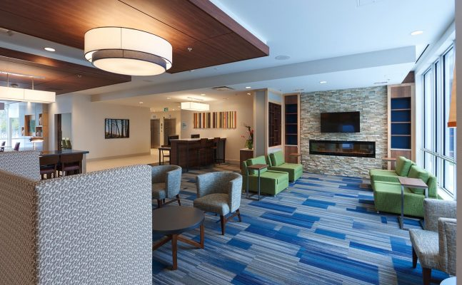Holiday Inn Express Suites St Johns Newfoundland Lobby