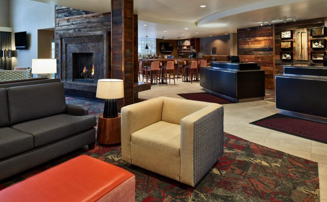 Residence Inn By Marriott Breckenridge Lobby And Front Desk