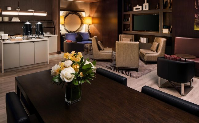 Hilton Brooklyn Executive Lounge
