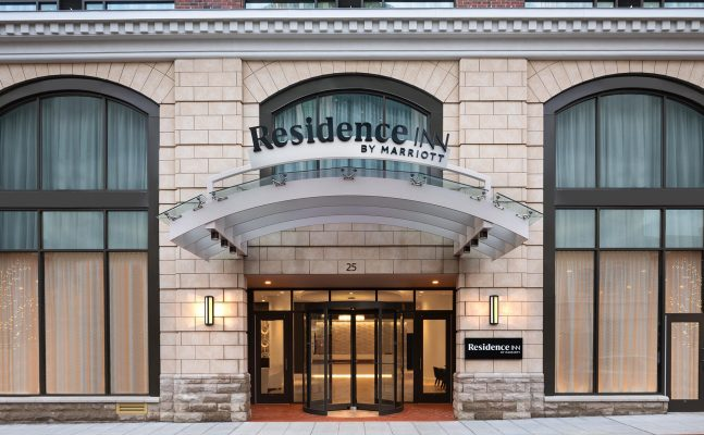 Residence Inn By Marriott Stamford Downtown Exterior