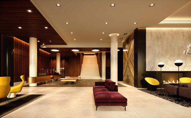 Homewood Suites Montreal Downtown Lobby