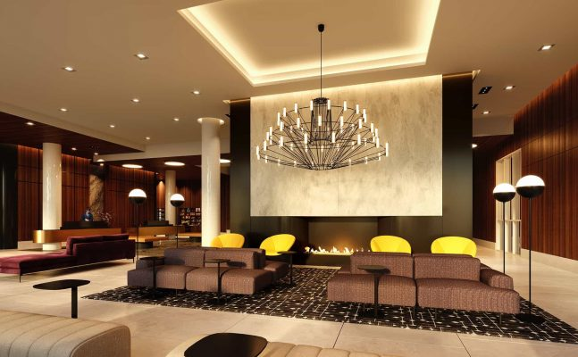 Homewood Suites Montreal Downtown Lobby Lounge