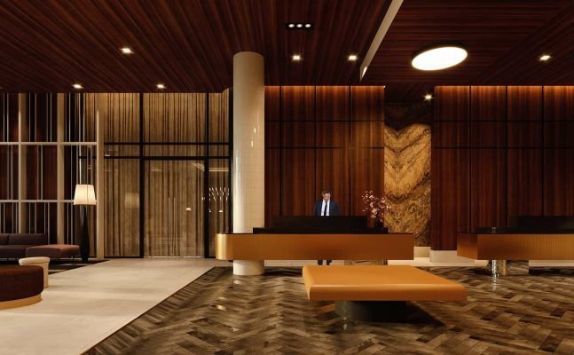 Homewood Suites Montreal Downtown Reception