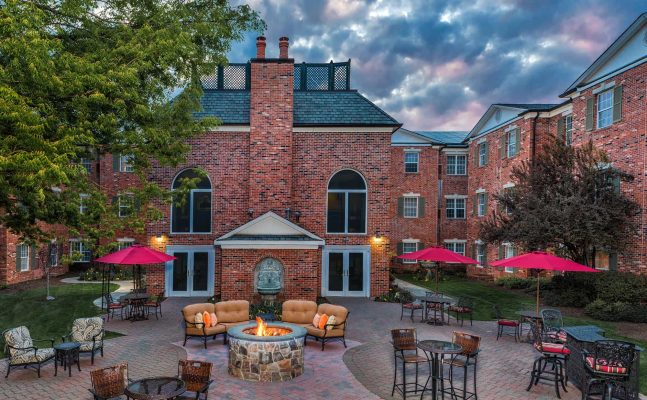 Residence Inn By Marriott West Orange Nj Firepit